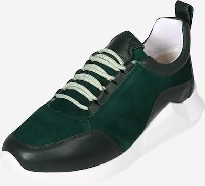JUTELAUNE Sneaker in dunkelgrün / schwarz, Produktansicht