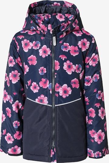 NAME IT Winterjacke in kobaltblau / pink, Produktansicht