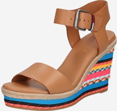 Tommy Jeans Sandale u smeđa / miks boja, Pregled proizvoda