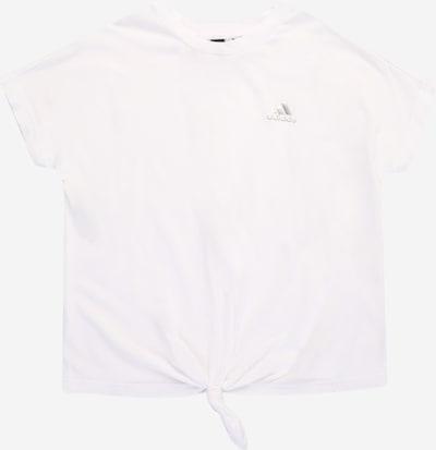 ADIDAS PERFORMANCE Tehnička sportska majica u srebro / bijela, Pregled proizvoda