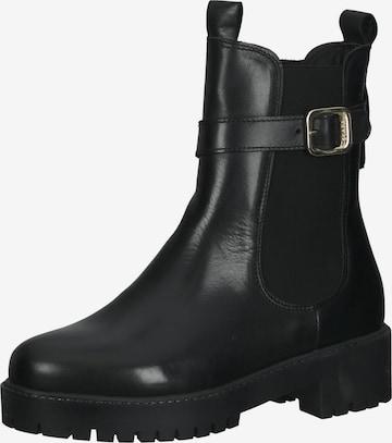 SCAPA Chelsea Boots in Schwarz