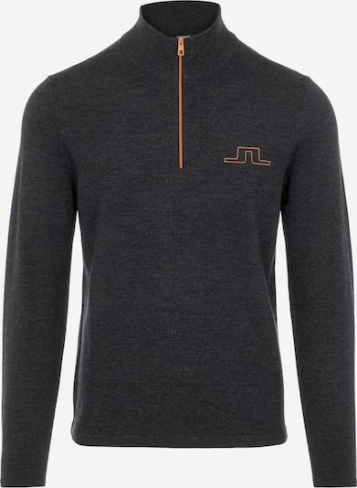 J.Lindeberg Sporttrui in de kleur Zwart gemêleerd, Productweergave