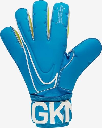 NIKE Handschuh in blau / weiß, Produktansicht