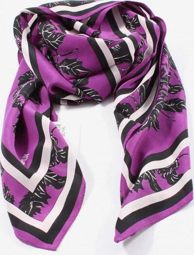 MONDI Halstuch in One Size in lila / schwarz / weiß, Produktansicht