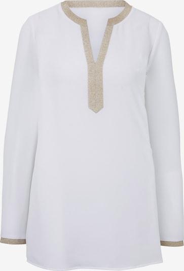 heine Bluza | zlata / bela barva, Prikaz izdelka