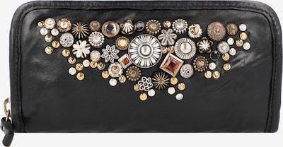 Campomaggi Porte-monnaies en mélange de couleurs / noir, Vue avec produit