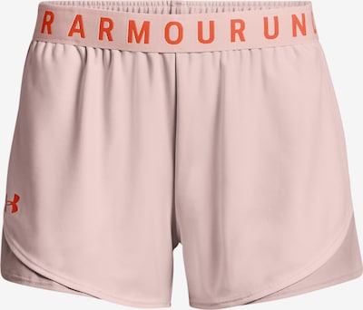 UNDER ARMOUR Shorts 'Play Up' in orange / pastellpink, Produktansicht