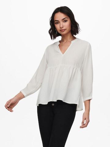 ONLY - Blusa 'Bloom' en blanco