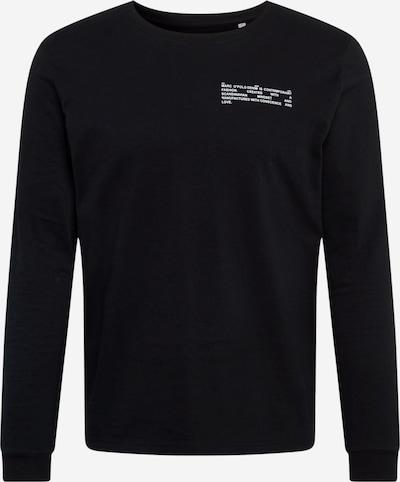 Tricou Marc O'Polo DENIM pe negru / alb, Vizualizare produs
