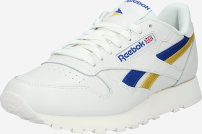 Reebok Classic Sneakers low in blue / yellow / off white, Item view