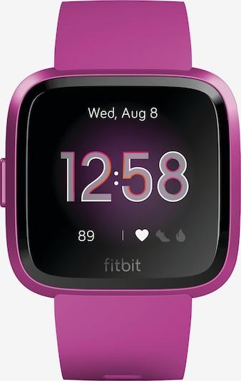FitBit Digitaluhr in fuchsia / schwarz, Produktansicht