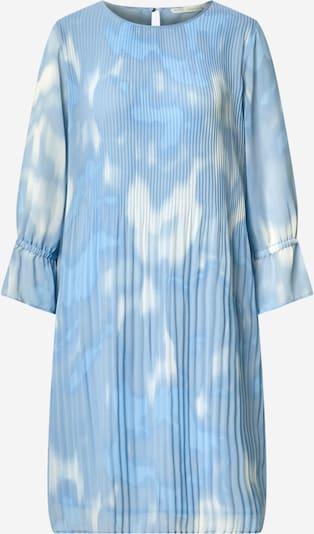 Rochie 'Ryanna' InWear pe albastru fumuriu / albastru deschis / alb, Vizualizare produs