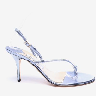 JIMMY CHOO Sandaletten in 39,5 in hellblau, Produktansicht
