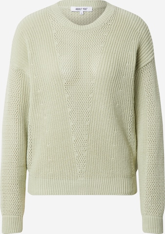 ABOUT YOU Sweater 'Thea' in Green