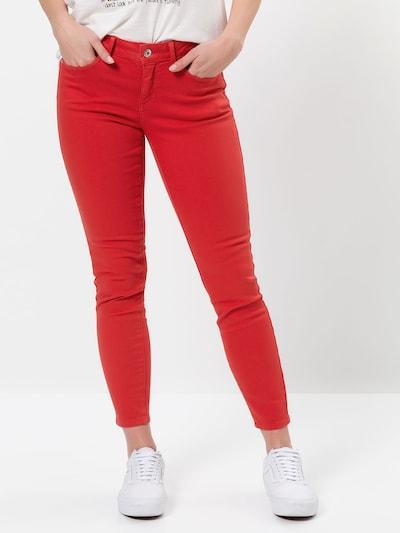 zero Jeans in apfel, Modelansicht