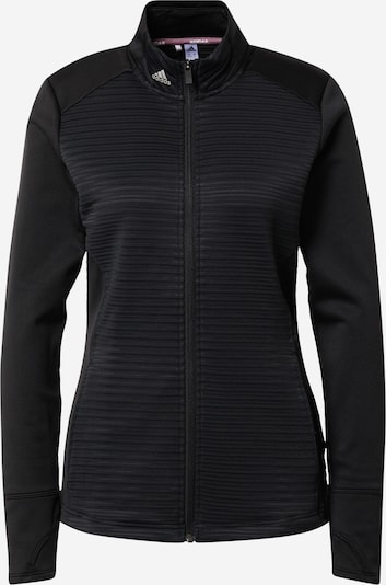 adidas Golf Sportjacke in schwarz, Produktansicht