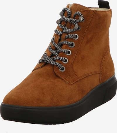 WALDLÄUFER Lace-Up Ankle Boots in Brown, Item view