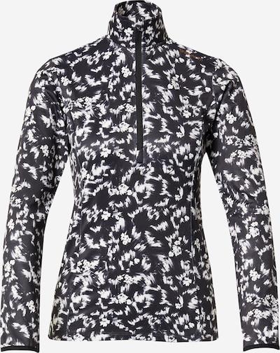 BRUNOTTI Sport sweatshirt 'Rodia' i svart / vit, Produktvy