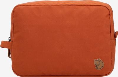 Fjällräven Toilettas in de kleur Bruin / Sinaasappel, Productweergave