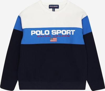 POLO RALPH LAUREN Sweatshirt in navy / royalblau / weiß, Produktansicht