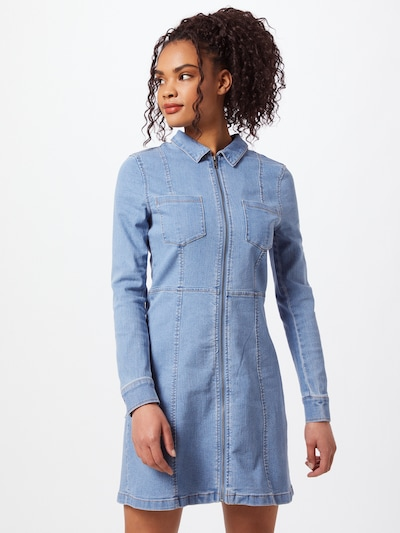 Noisy may Dress 'LISA' in Blue denim, View model