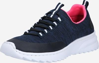 RIEKER Sneaker in dunkelblau / schwarz: Frontalansicht