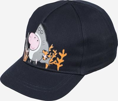 NAME IT Šešir 'PEPPA PIG' u safirno plava / siva / narančasta / roza / bijela, Pregled proizvoda