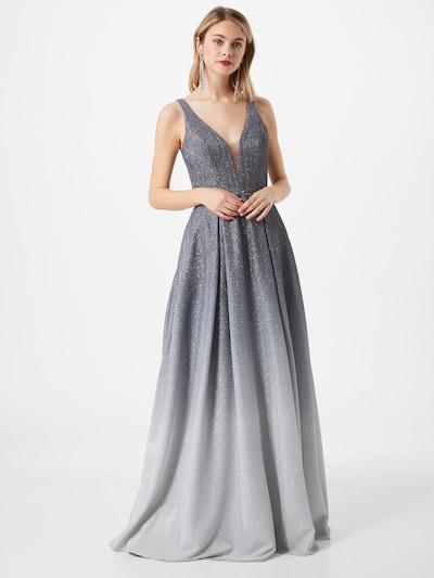 mascara Společenské šaty - šedá / antracitová, Model/ka