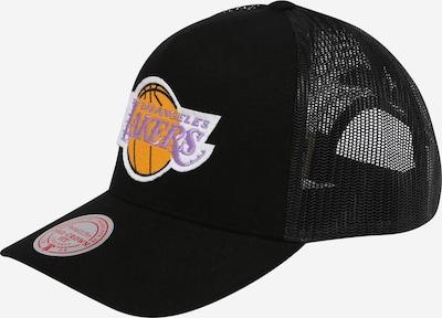 Mitchell & Ness Cap in helllila / orange / schwarz / weiß, Produktansicht
