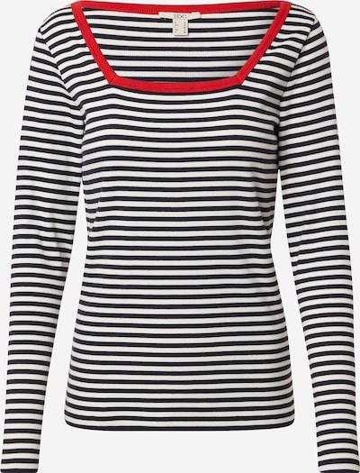 EDC BY ESPRIT Shirt in kobaltblau / rot / weiß, Produktansicht