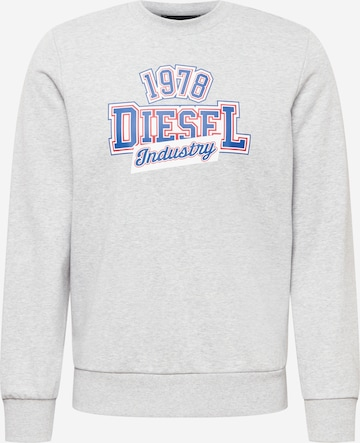 DIESEL Sweatshirt 'GIRK' in Grau