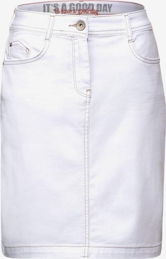 CECIL Jeansrock in weiß, Produktansicht