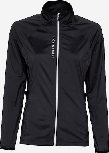 Röhnisch Sport-Jacke 'Mila' in schwarz, Produktansicht