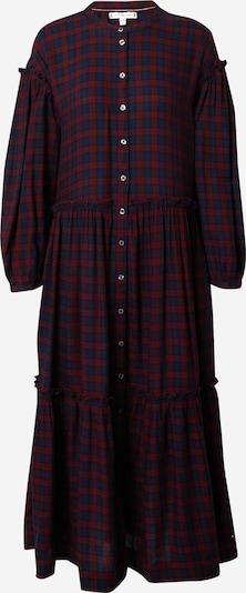 TOMMY HILFIGER Košilové šaty 'BEA TARTAN' - námořnická modř / tmavě červená, Produkt