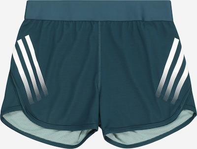 ADIDAS PERFORMANCE Pantalon de sport en bleu pastel / blanc, Vue avec produit