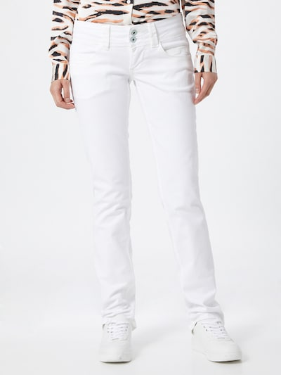 Pepe Jeans Jeans 'VENUS' in weiß, Modelansicht
