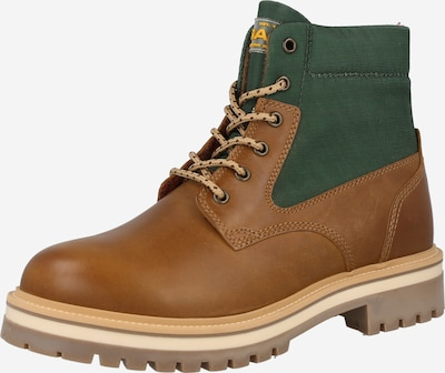 GANT Lace-up boots in Light brown / Emerald, Item view