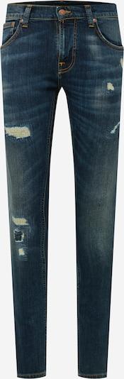 Jeans Nudie Jeans Co pe albastru, Vizualizare produs