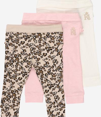 River Island Leggings in braun / pink / puder / schwarz / weiß, Produktansicht
