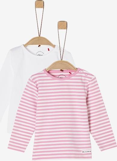 s.Oliver Shirts in pink / weiß, Produktansicht
