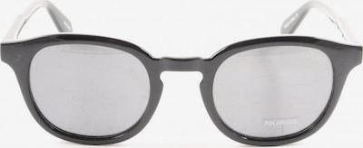 QUAY ovale Sonnenbrille in One Size in schwarz, Produktansicht