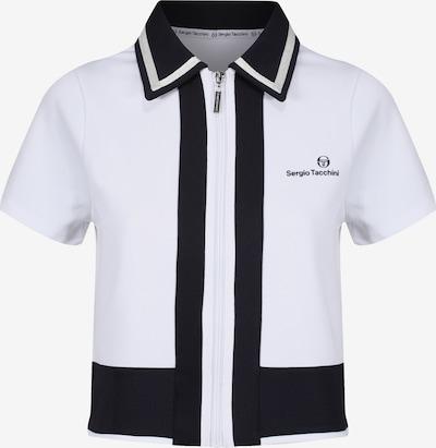 Sergio Tacchini Shirt 'FRANCES' in Black / White, Item view