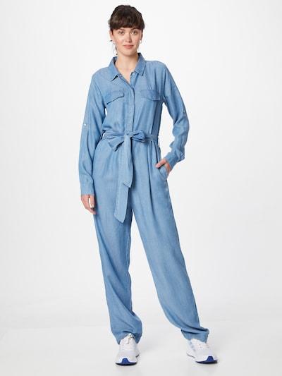 Salopeta PRINCESS GOES HOLLYWOOD pe denim albastru, Vizualizare model
