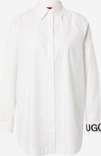 HUGO Bluza 'Esmera' u plava / bijela, Pregled proizvoda