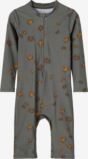 NAME IT UV-bescherming 'Frods' in de kleur Honing / Donkergrijs / Zwart, Productweergave