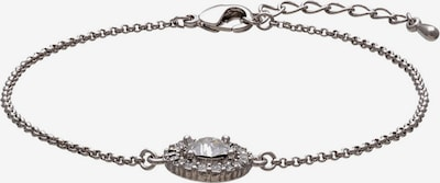 LILY AND ROSE Armband 'Miss Miranda' in silber / transparent, Produktansicht