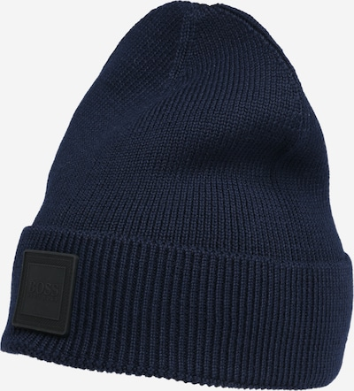 BOSS Mütze 'Foxxy' in dunkelblau, Produktansicht