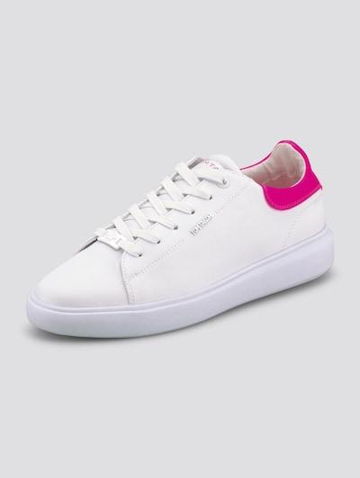 TOM TAILOR Sneaker in neonpink / weiß, Produktansicht