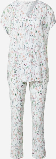 Esprit Bodywear Pajama 'ARMATHA' in Mixed colours / White, Item view