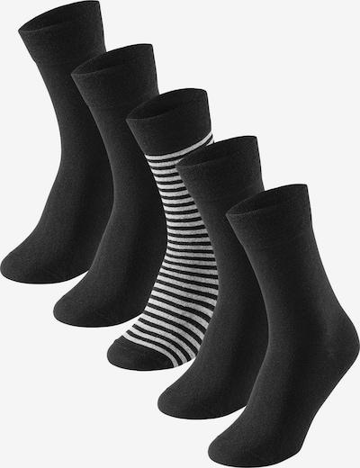 SCHIESSER Ponožky - čierna / biela, Produkt